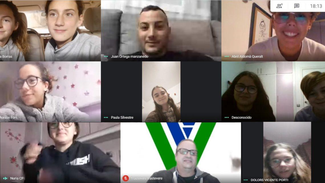 Sessió virtual del Cadet Femení