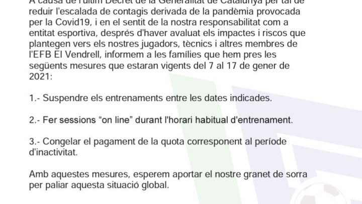 COMUNICAT OFICIAL 06/01/2021