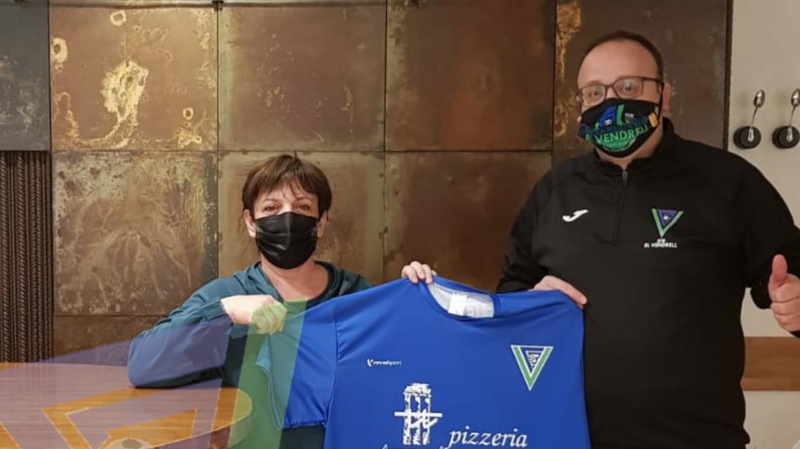 Pizzeria Trastevere, patrocinador de l'equip femení de l'EFBeV