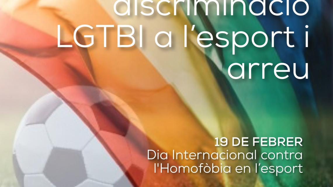19 de febrer, Dia Internacional contra l'homofòbia en l'esport.