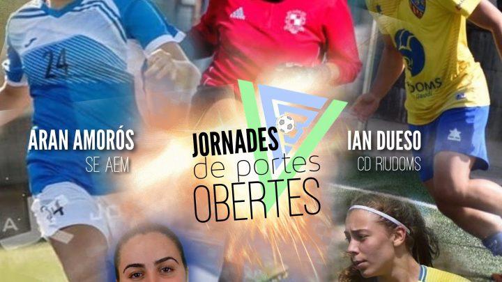 Suport especial a les Jornades de portes obertes femenines