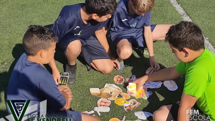 Una bona alimentació millora el rendiment esportiu