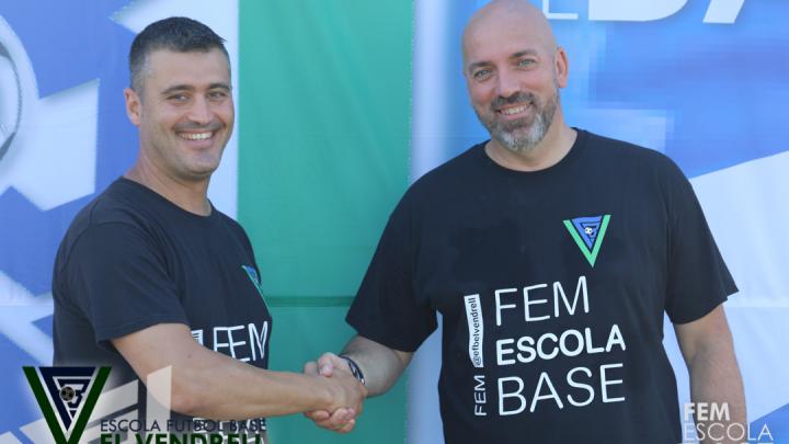 Sergi Teruel, nou coordinador de l'EFB El Vendrell